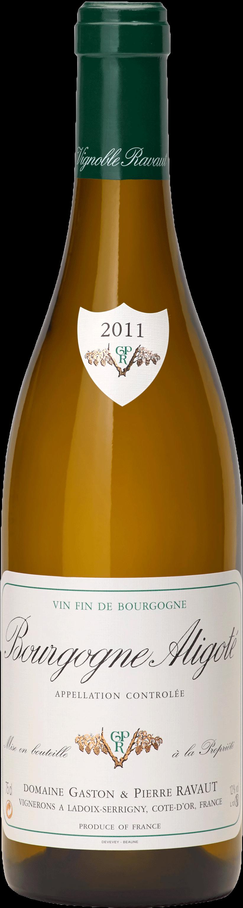 Bouteille Bourgogne Aligoté 2019