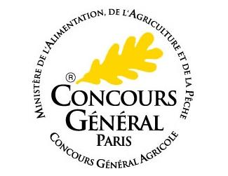 Médaille d'Or au Concours Général Agricole de Paris